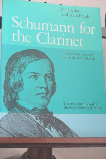 Schumann R - Schumann for Clarinet for Clarinet & Piano arr King T & Frank A